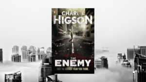 Charlie Higson The Enemy book cover - interview for Hampshire Libraries Love Your Library podcast
