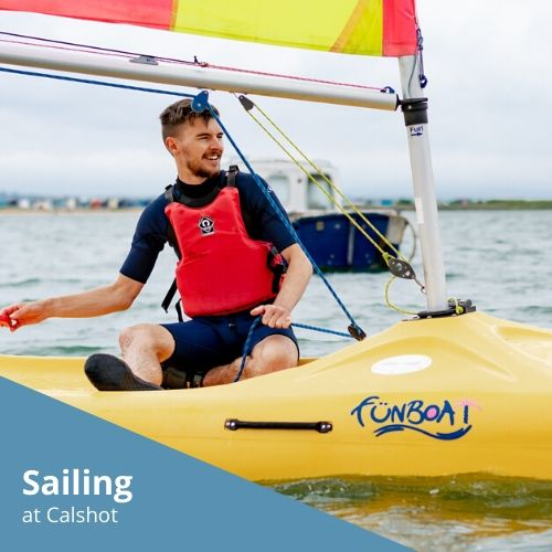 Sailing at Calshot