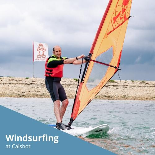 Windsurfing at Calshot