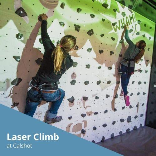 Laser Climb at Calshot