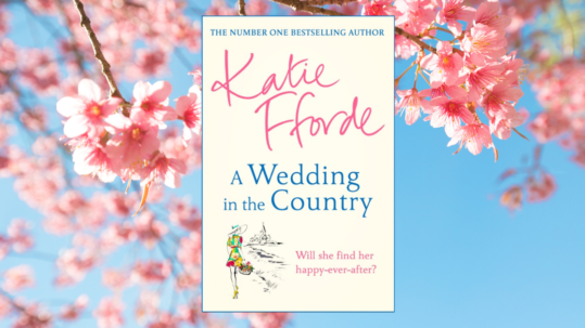 Katie Fforde interview - book cover for Love Your Library podcast