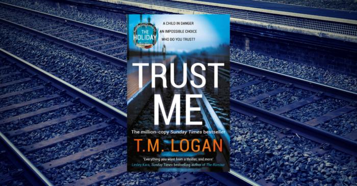 T.M. Logan interview - Trust Me